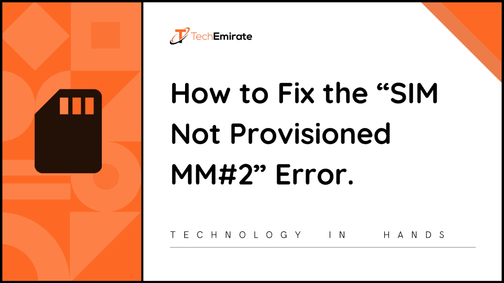 SIM Not Provisioned MM 2