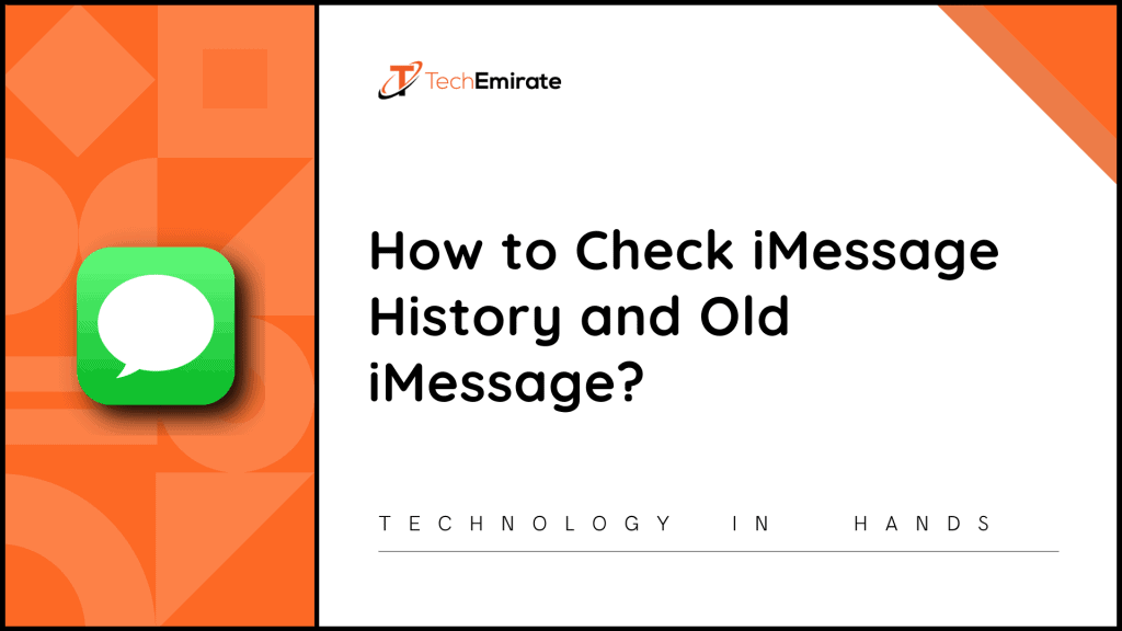 imessage history