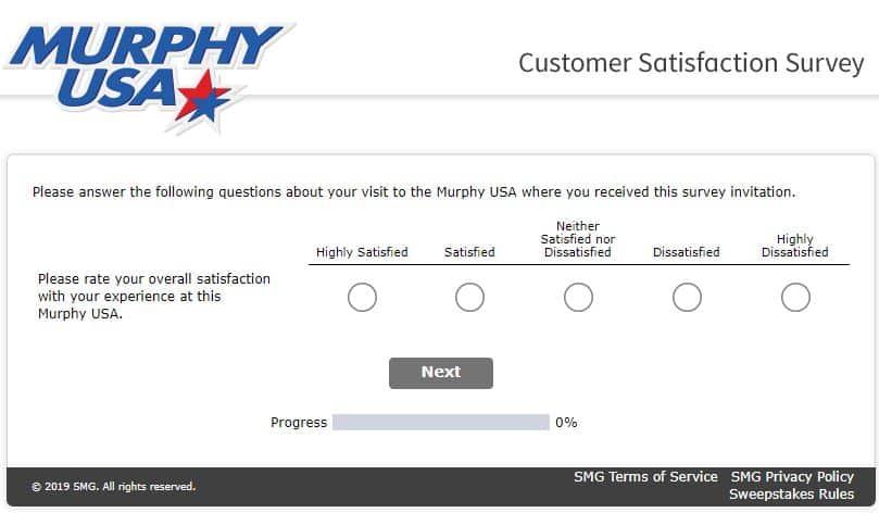 murphy survey criteria