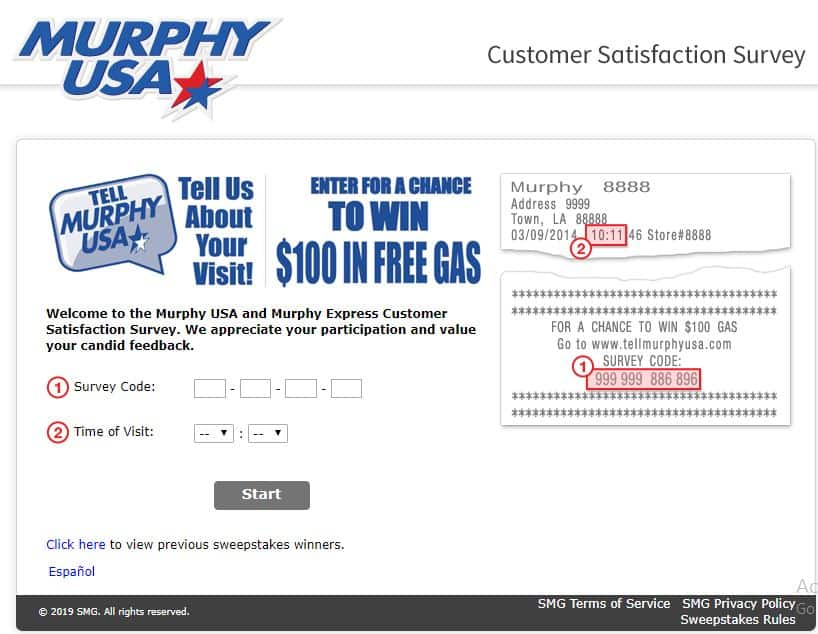 murphy survey requirement